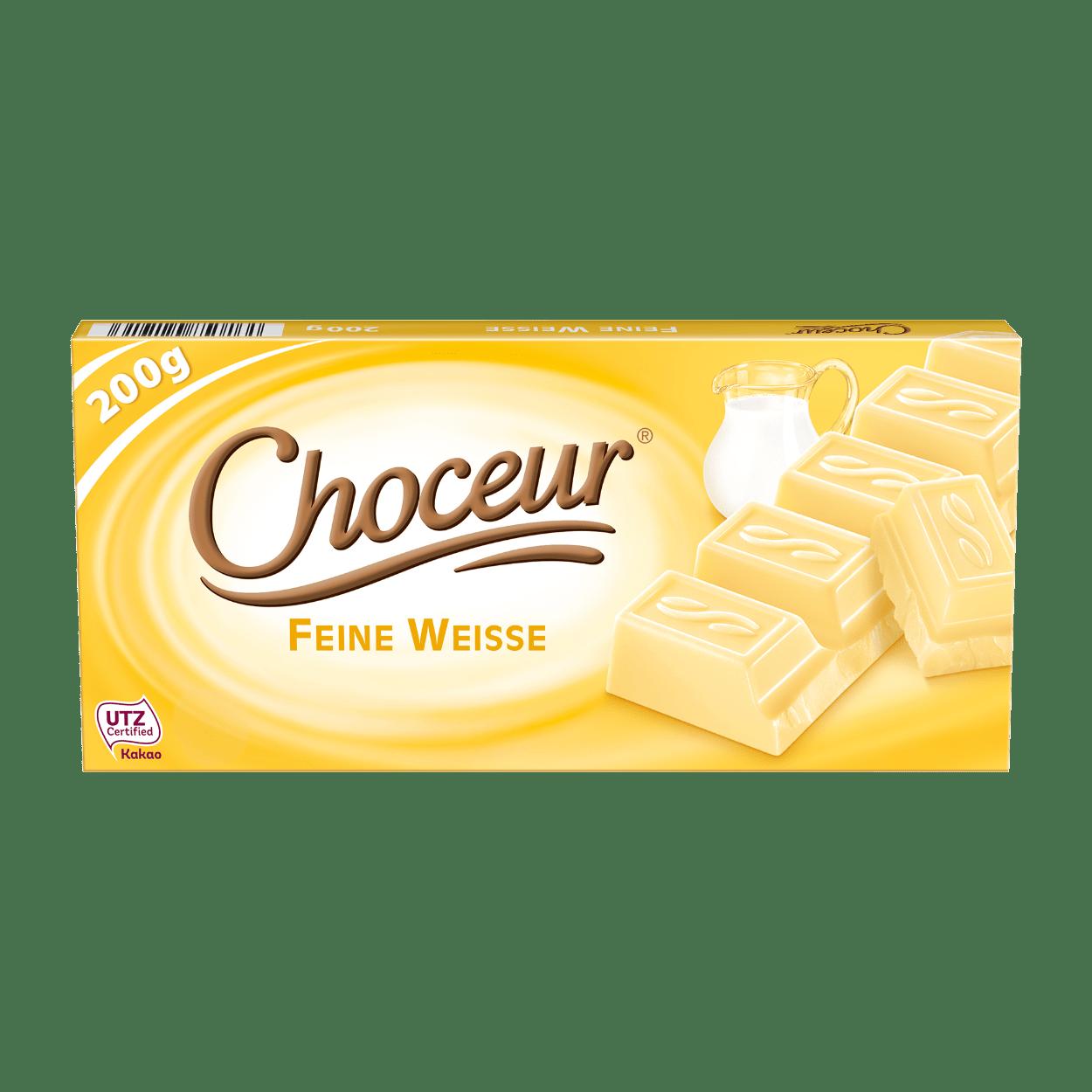 CHOCEUR Sahne- / Weiße Schokolade günstig bei ALDI Nord