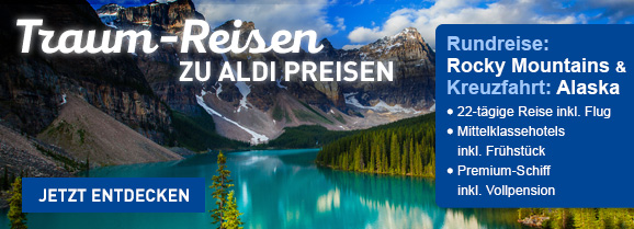 ALDI Reisen  Rocky Mountains