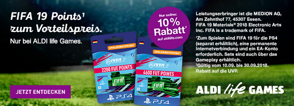 ALDI life Fifa Points