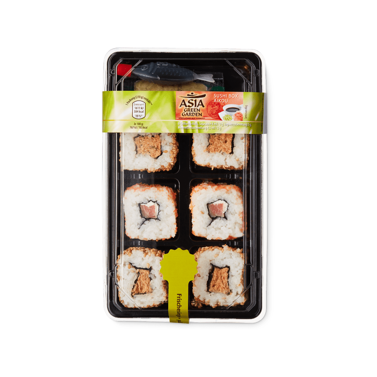 sushi box g nstig bei aldi nord. Black Bedroom Furniture Sets. Home Design Ideas