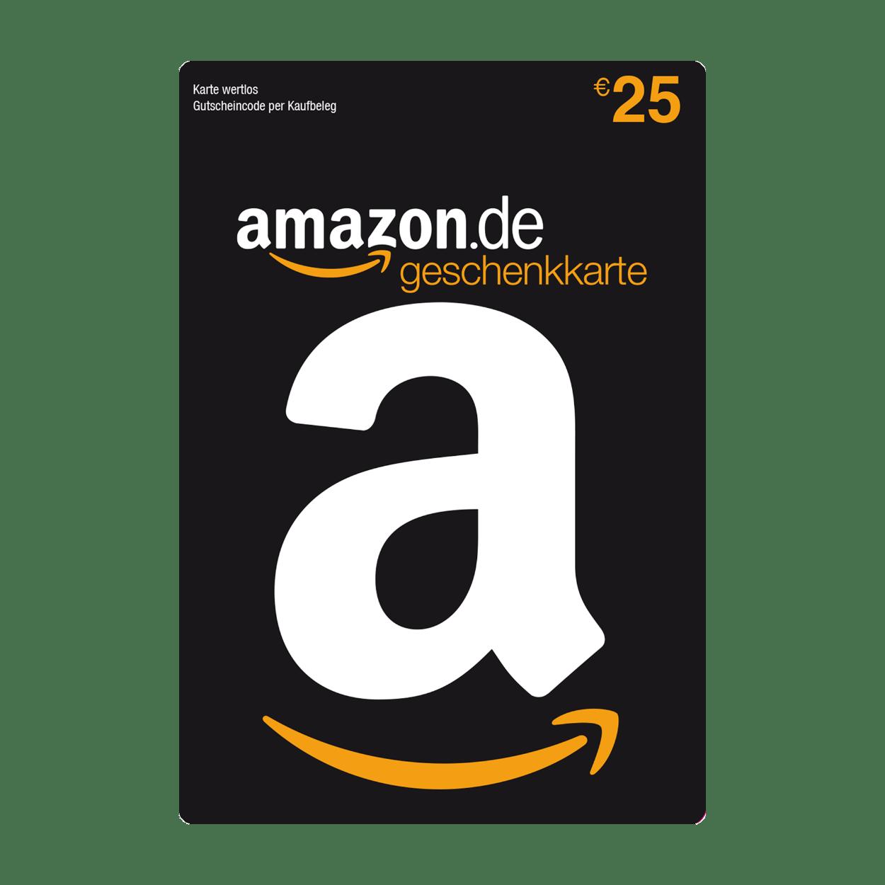 Amazon Gutschein Karte.Amazon De Geschenkkarte 25