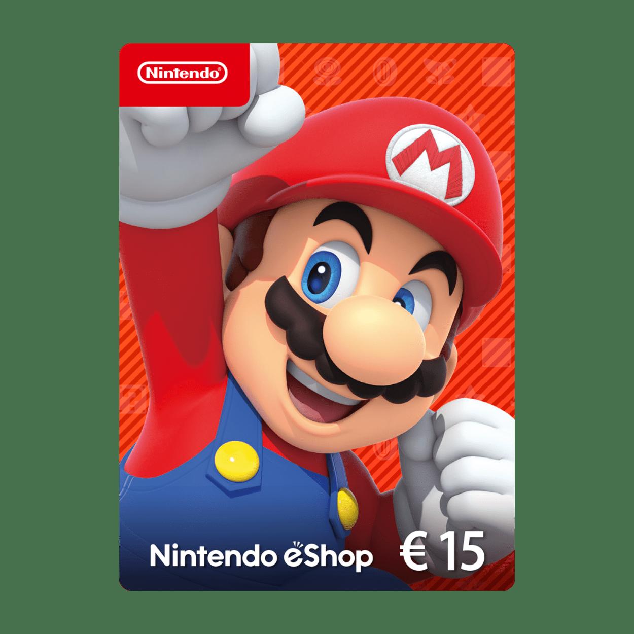 Nintendo eShop Guthabenkarte 15 €
