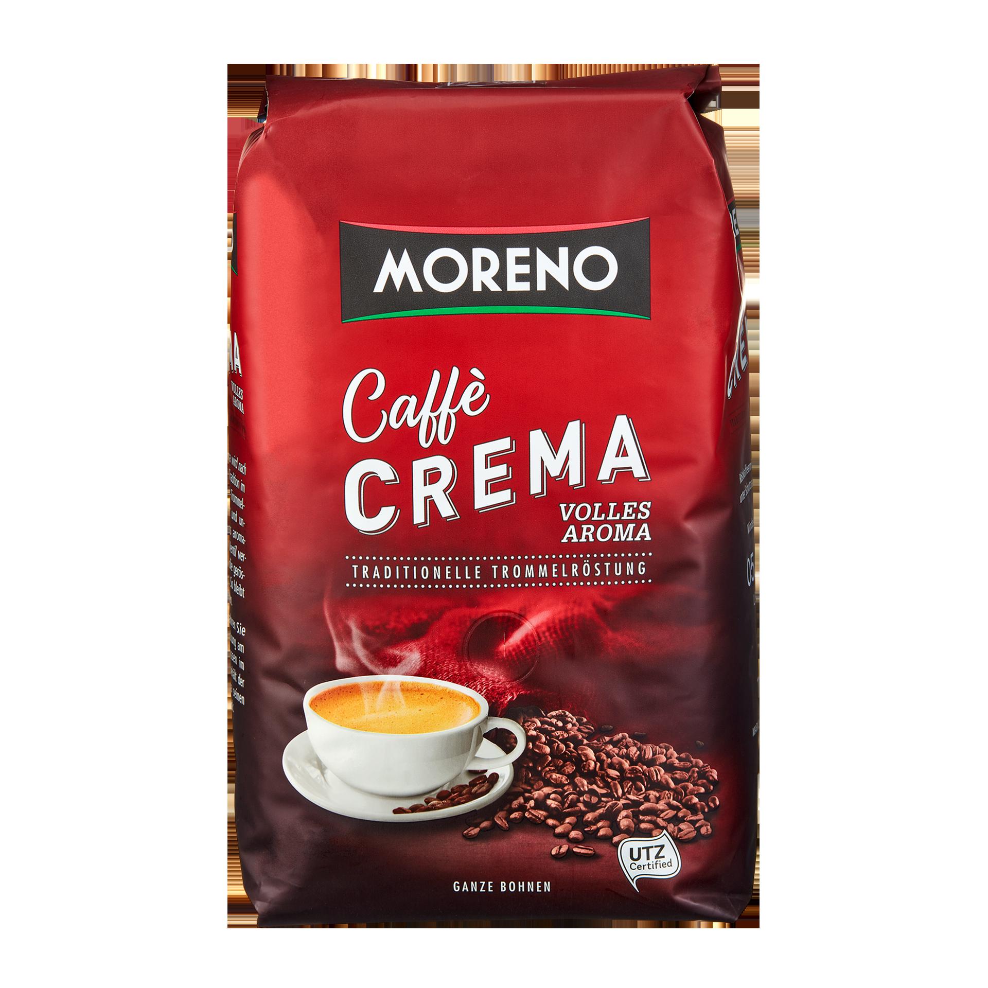 Moreno Caffè Crema Günstig Bei Aldi Nord