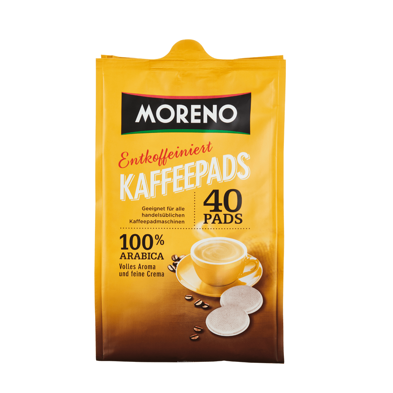 Kaffeepads Entkoffeiniert Günstig Bei Aldi Nord