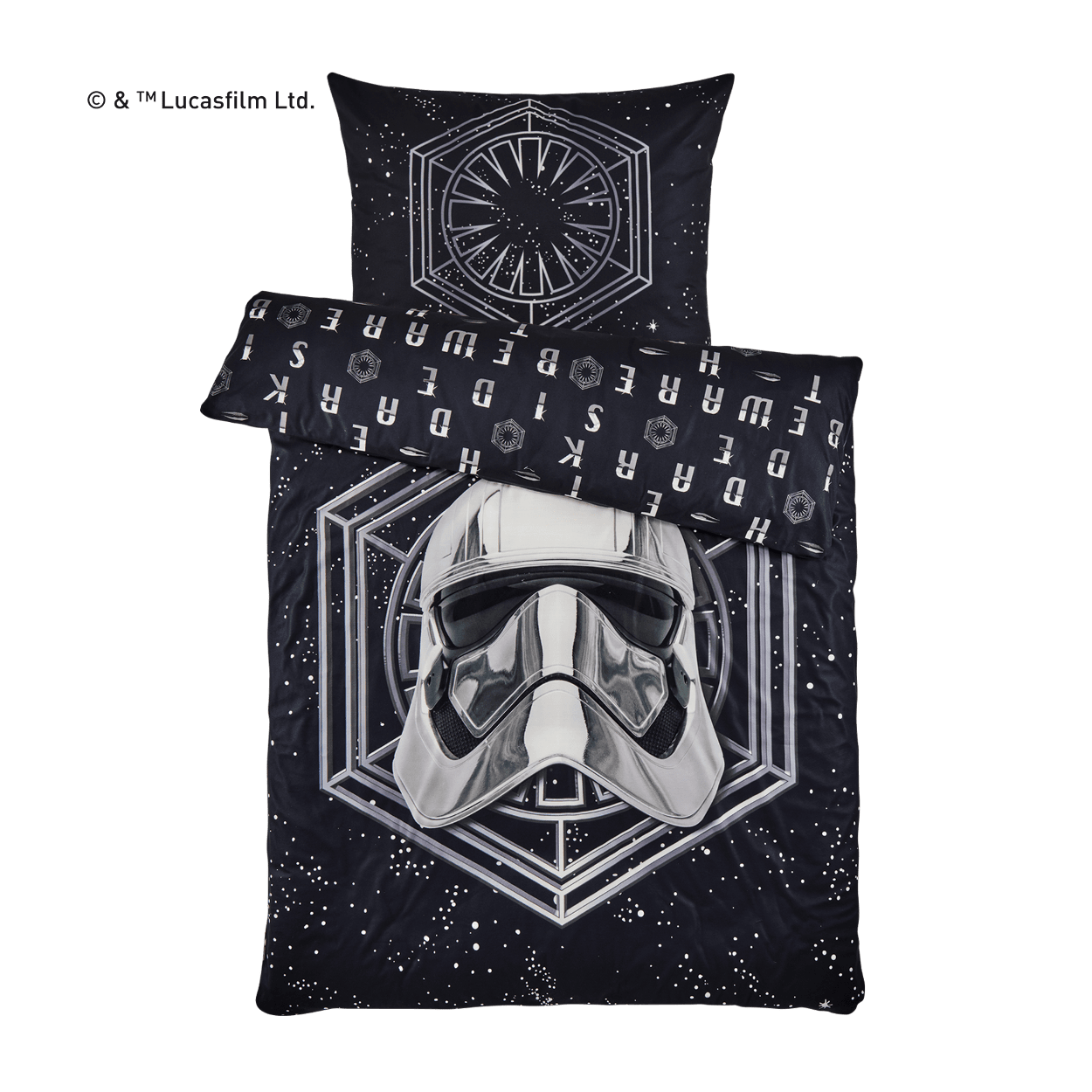 ab sa star wars fleece bettw sche g nstig bei aldi. Black Bedroom Furniture Sets. Home Design Ideas