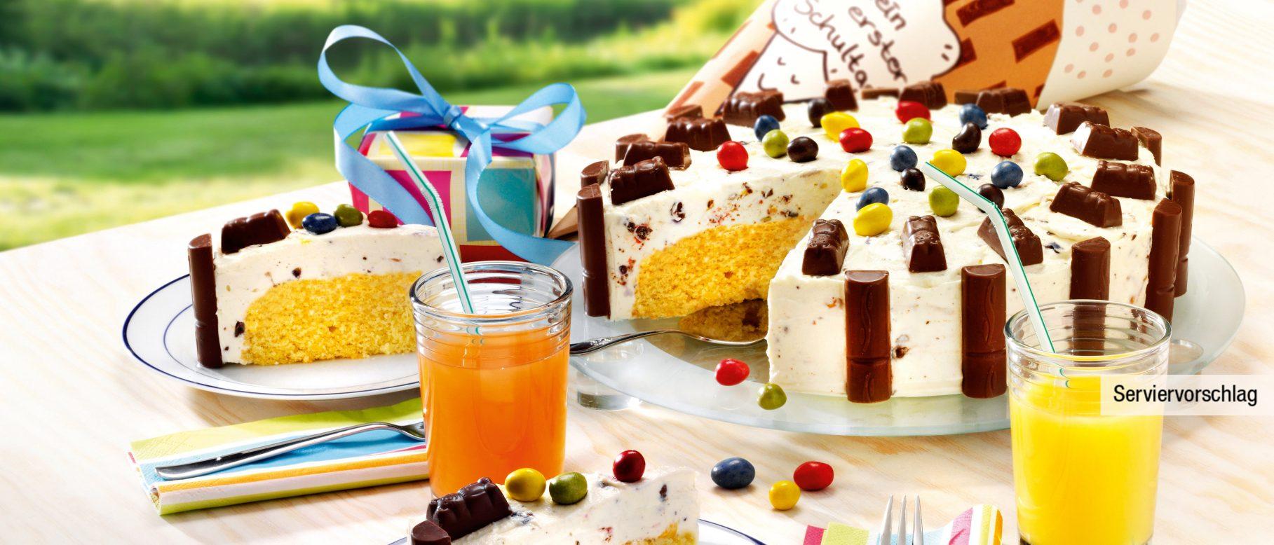 Bunte Choco Peanuts Torte Rezept Aldi Nord Rezepte