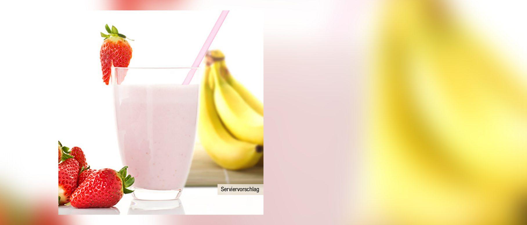 Erdbeer-Bananen-Smoothie Rezept - ALDI Nord Rezepte