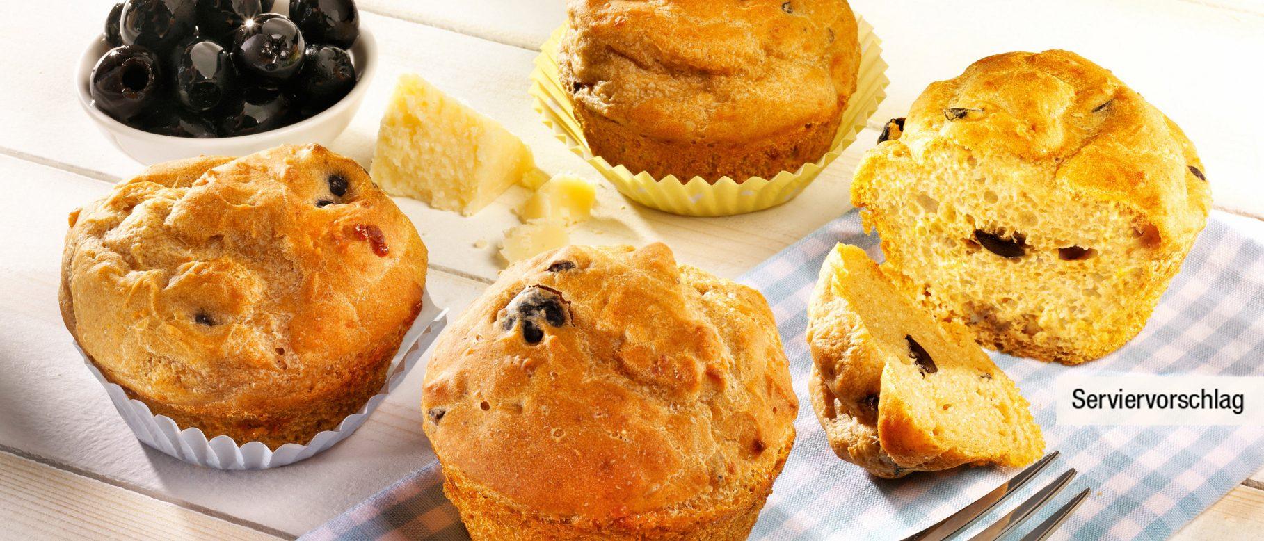 Herzhafte Oliven Parmesan Muffins Rezept Aldi Nord Rezepte