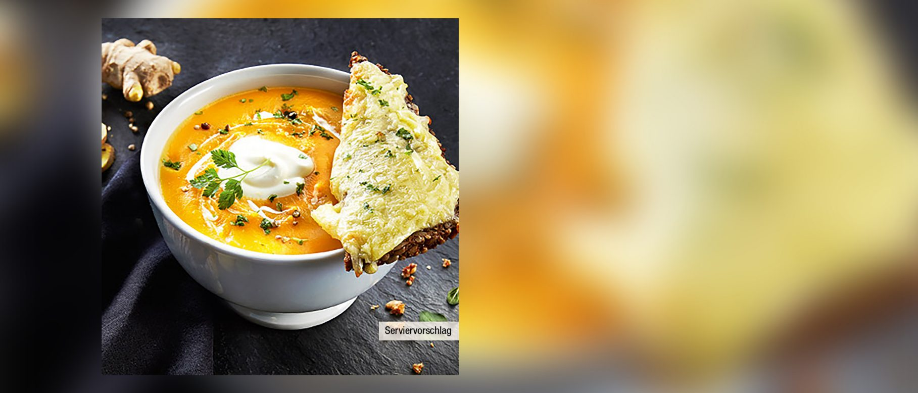 Süßkartoffel Möhren Suppe